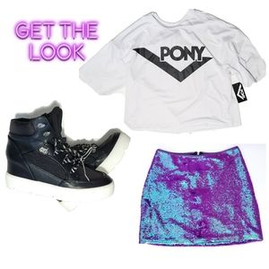 Casual Glimmer Outfit